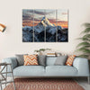Mount Ama Dablam, Nepal Canvas Wall Art-4 Horizontal-Small-Gallery Wrap-Tiaracle