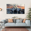 Mount Ama Dablam, Nepal Canvas Wall Art-5 Horizontal-Small-Gallery Wrap-Tiaracle