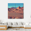 Mountain Plateau La Puna Canvas Wall Art-4 Square-Small-Gallery Wrap-Tiaracle