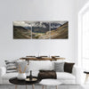 Mountain Valley Near Shandur Pass Pakistan Panoramic Canvas Wall Art 3 Piece / Small Tiaracle