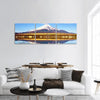 Mt Fuji With Lake Yamanaka Panoramic Canvas Wall Ar Tiaracle
