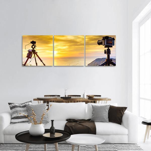 Nature Scene Capture Panoramic Canvas Wall Art 1 Piece / Small Tiaracle