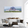 Northern Thai Style Building Panoramic Canvas Wall Art Tiaracle