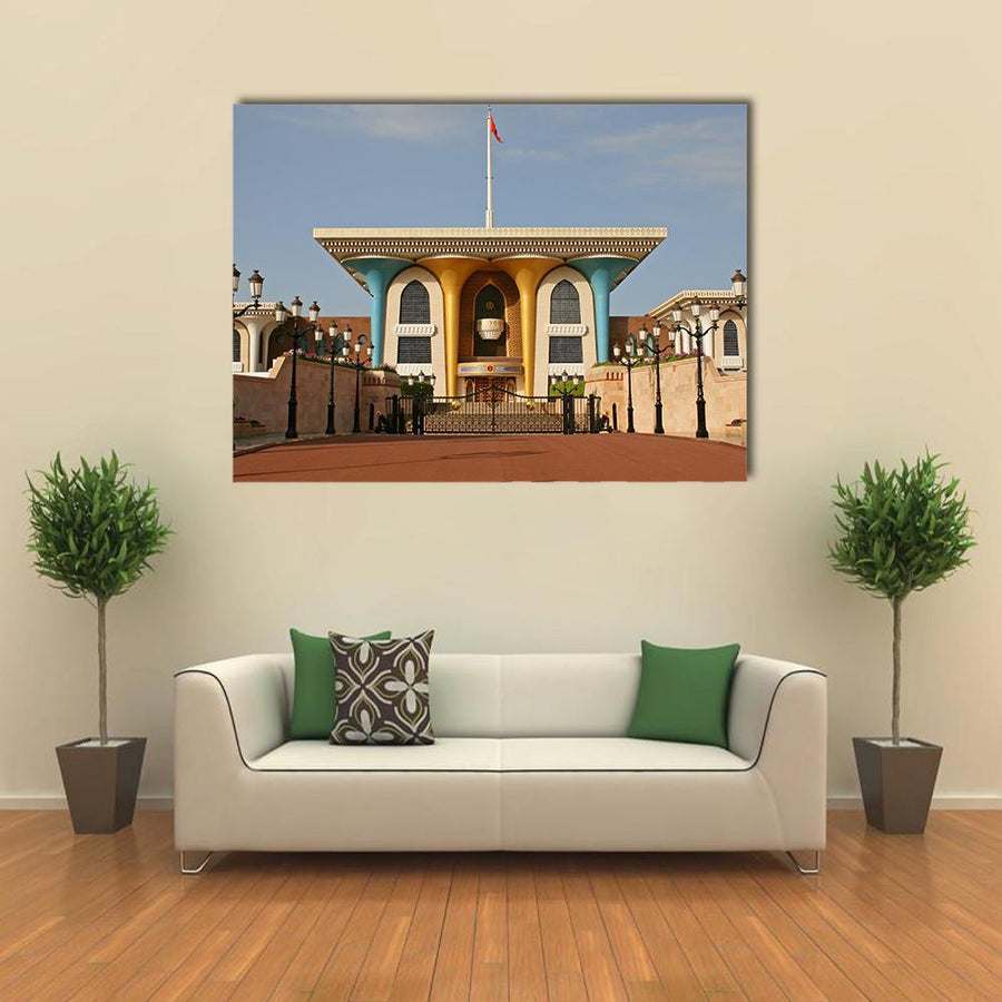 Palace Of Sultan Al Qaboos in Muscat Canva 5 Pieces(B) / Medium / Canvas Tiaracle
