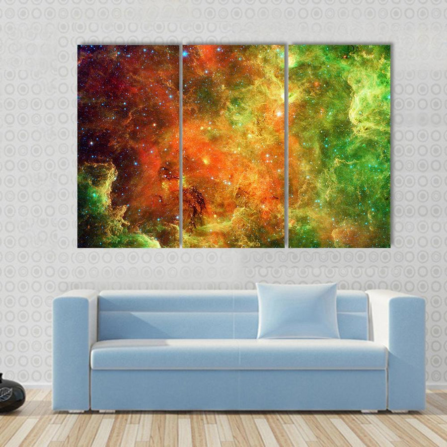 Pelican Nebula Canvas Panel Painting Tiaracle