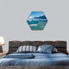 Perito Moreno Glacier in Patagonia, Argentina Hexagonal Canvas Wall Art 1 Hexa / Small / Gallery Wrap Tiaracle