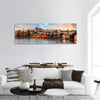 Prague Cityscape Panoramic Canvas Wall Art Tiaracle