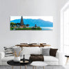 Pura Ulun Danu Temple Panoramic Canvas Wall Art 1 Piece / Small Tiaracle