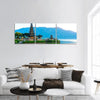 Pura Ulun Danu Temple Panoramic Canvas Wall Art Tiaracle