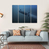 Rear View Of Submarine Under Water Multi Panel Canvas Wall Art 4 Horizontal / Small / Gallery Wrap Tiaracle