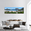 Rio de Janeiro Cityscape In Brazil Panoramic Canvas Wall Art 3 Piece / Small Tiaracle