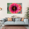 Ripe Red Flower Canvas Wall Art-4 Horizontal-Small-Gallery Wrap-Tiaracle