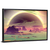 Rocks On Alien Planet Multi Panel Canvas Wall Art-Tiaracle