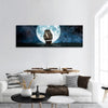 Sailing Boat In Full Moon Night Panoramic Canvas Wall Ar 1 Piece / Small Tiaracle