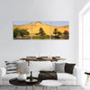 Sand Dune Over Nile River Panoramic Canvas Wall Art 3 Piece / Small Tiaracle