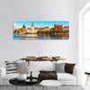 Scenic Summer View Of The Old Town In Prague Panoramic Canvas Wall Art Tiaracle