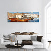 Seaport Of Oman Panoramic Canvas Wall Art 3 Piece / Small Tiaracle