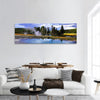 Silent Geyser In Yellowstone National Park Panoramic Canvas Wall Art 1 Piece / Small Tiaracle