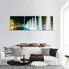 Singing And Dancing Fountains In Georgia Panoramic Canvas Wall Art Tiaracle