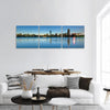 Skyline Of Boston Panoramic Canvas Wall Art 3 Piece / Small Tiaracle