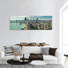 Skyline Of Chicago Panoramic Canvas Wall Art Tiaracle