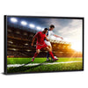 Soccer Players In Action Multi Panel Canvas Wall Art-Tiaracle