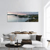 South Twillingate Island In Canada Panoramic Canvas Wall Art 3 Piece / Small Tiaracle
