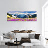 Spring In Wild Mountains Of Ukraine Panoramic Canvas Wall Art 3 Piece / Small Tiaracle