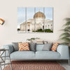 Sultan Qaboos Mosque Multi Panel Canvas Wall Art-4 Horizontal-Small-Gallery Wrap-Tiaracle