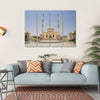 Sultan Taymoor Grand Mosque Multi Panel Canvas Wall Art 4 Horizontal / Small / Gallery Wrap Tiaracle