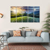 Sunlight On Hillside Meadows Canvas Wall Art-5 Horizontal-Small-Gallery Wrap-Tiaracle
