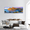Sunrise On The Sea Royal Bay Panoramic Canvas Wall Art Tiaracle