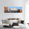 Sunrise Over Pikes Peak In Colorado Panoramic Canvas Wall Art Tiaracle