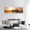 Sunrise Over The Shanghai Bund Panoramic Canvas Wall Art 1 Piece / Small Tiaracle