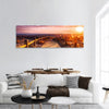 Sunset Beach Near Almeria In Spain Panoramic Canvas Wall Art Tiaracle