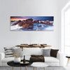 Sunset On The South Australian Coast Panoramic Canvas Wall Art 1 Piece / Small Tiaracle