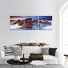 Sunset On The South Australian Coast Panoramic Canvas Wall Art 3 Piece / Small Tiaracle