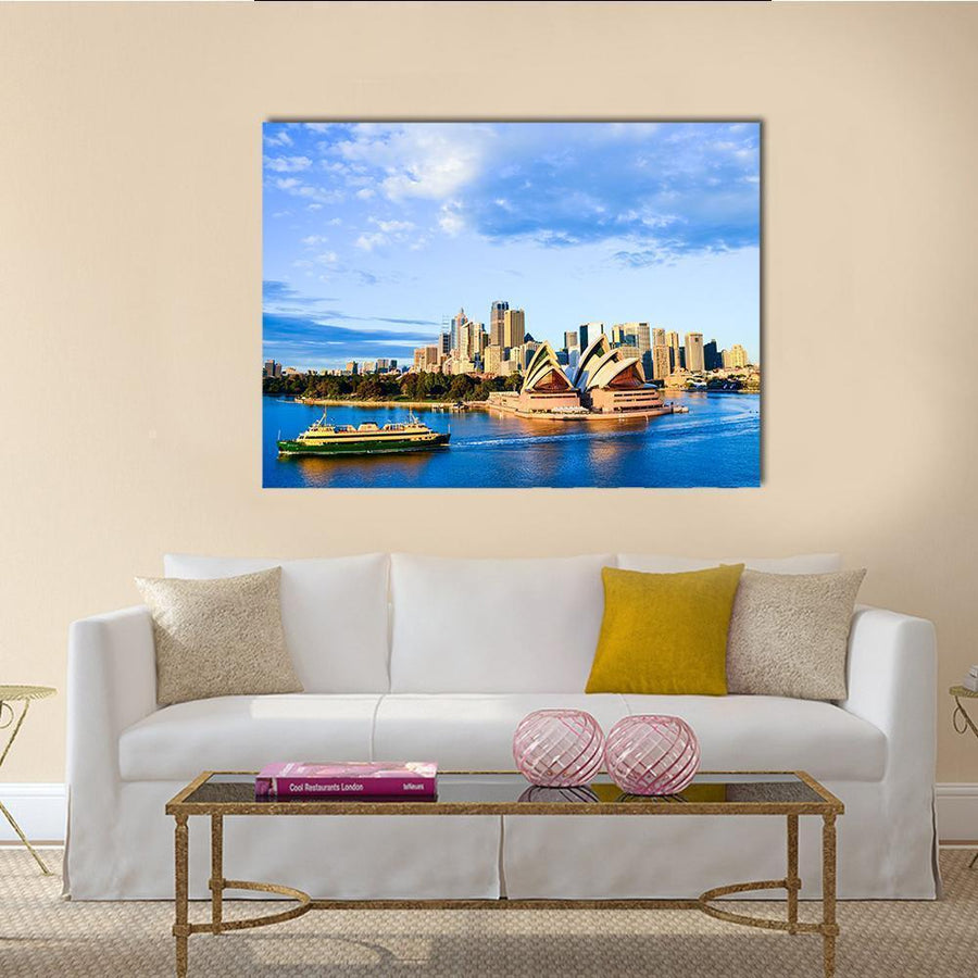 Sydney Opera House Canvas Wall Art