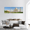Taj Mahal In Agra India Panoramic Canvas Wall Art 3 Piece / Small Tiaracle
