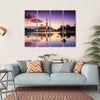 Tengku Zaharah Mosque Canvas Wall Art-4 Horizontal-Small-Gallery Wrap-Tiaracle