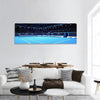 Tennis Court Panoramic Canvas Wall Art 1 Piece / Small Tiaracle