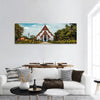 Thai Buddhist Temple Panoramic Canvas Wall Art 1 Piece / Small Tiaracle