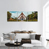 Thai Buddhist Temple Panoramic Canvas Wall Art 3 Piece / Small Tiaracle