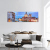 The Basilica Of St Mary In Venice Panoramic Canvas Wall Art 3 Piece / Small Tiaracle