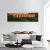 The Cefn Mawr Viaduct In Wales Uk Panoramic Canvas Wall Art Tiaracle