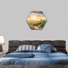 The Great Wall of China Hexagonal Canvas Wall Art-1 Hexa-Small-Gallery Wrap-Tiaracle