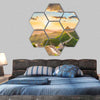 The Great Wall of China Hexagonal Canvas Wall Art-7 Hexa-Small-Gallery Wrap-Tiaracle