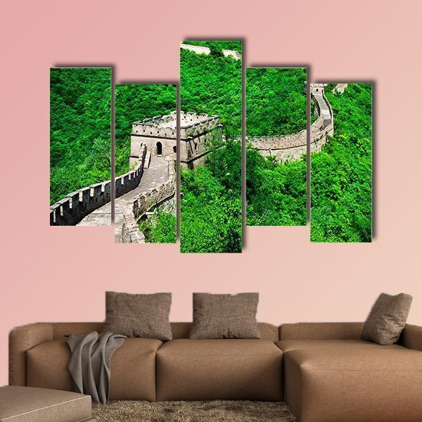 The Great Wall Of China Multi Panel Canvas Wall Art 3 Pieces / Medium / Canvas Tiaracle