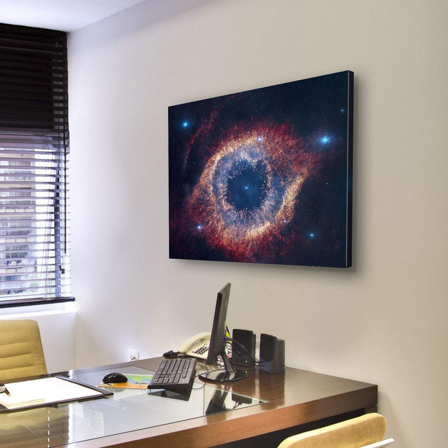 The Helix Nebula (Eye Of God) Canvas Panel Painting Tiaracle