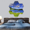 The Isle Of Skye In Scotland Hexagonal Canvas Wall Art 7 Hexa / Small / Gallery Wrap Tiaracle